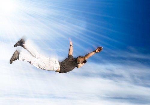 Сонник в облака летать