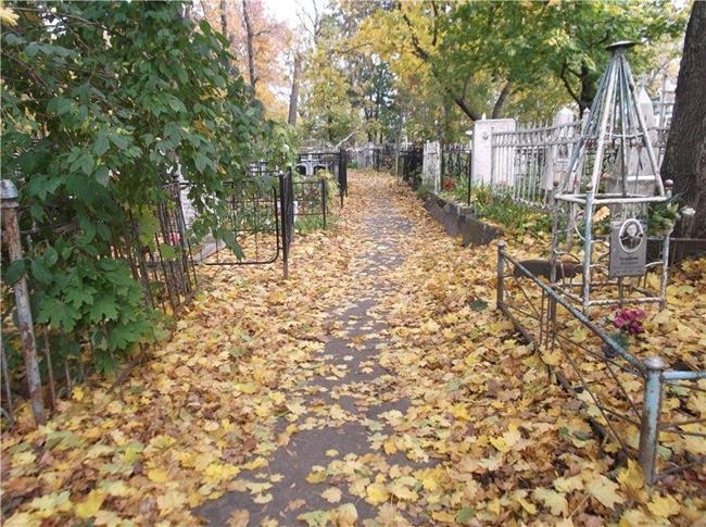 Осенний погост