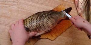 Разделывать сырую рыбу сонник