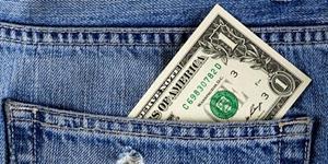 Доллар в кармане джинсов