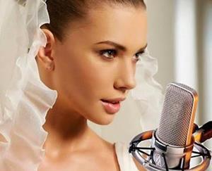 Невеста поет