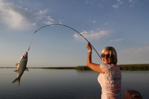 Приснилось как я ловила рыбу