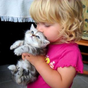 В руках у ребенка
