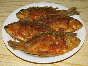 Жаренная рыба