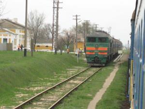 Встречный поезд