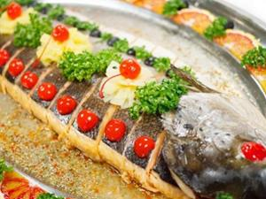Красивое блюдо из рыбы