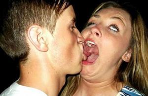 Поцелуй с неприятным парнем