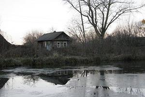 Река в сельской местности