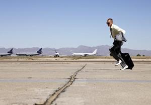 Мужчина опоздал на самолёт