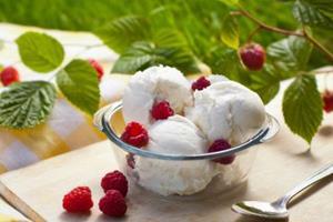 Пломбир с ягодами