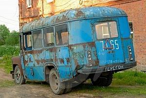 Старый автобус