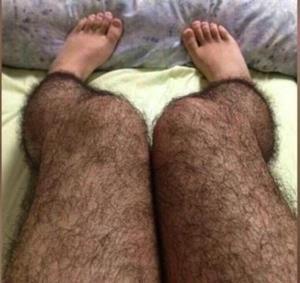 Волосатые места у женщин