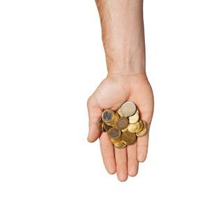 Дают монеты