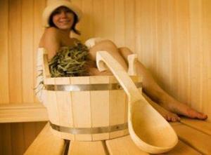 Мыться в бани