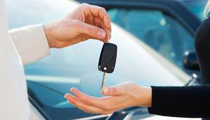 Передача ключей от новой машины