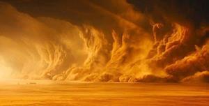Ветер в пустыне