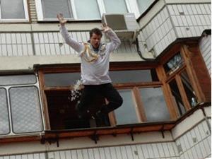 Прыгать из окна