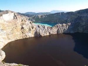 Озеро с чёрной водой