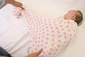 Пеленать ребёнка во сне