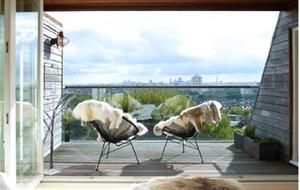 Чаепитие на балконе