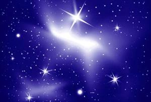 Яркие звезды на небе