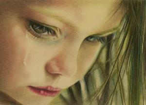 Плачет девочка