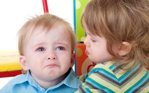Детские переживания и слёзы