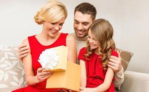 Получение хорошего подарка