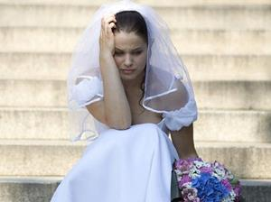 Плачет невеста