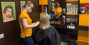 Посещение парикмахерской