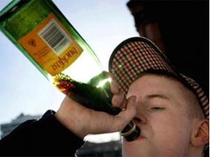 Жертва пьянства