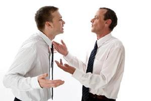 Ссора с начальником