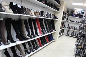 Ассортимент обувного магазина