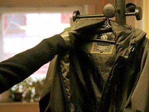 Кража одежды