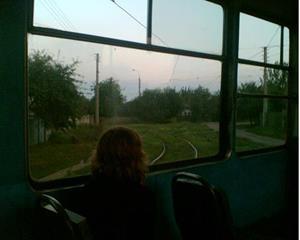 Ехать на трамвае