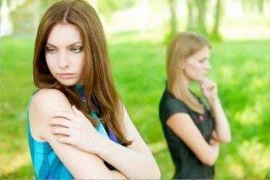 Ссора с подругой