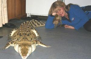 Крокодил в доме