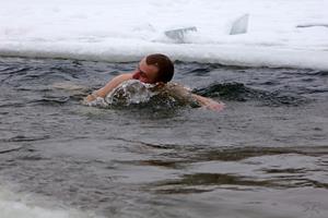 Плавание зимой