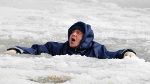 Провал под лёд