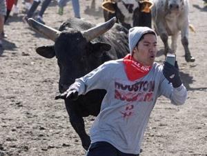 Убегать от быка