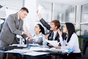 Ссора с колегами