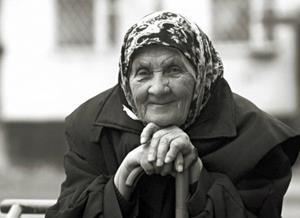 Умершая бабушка