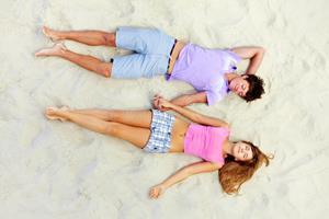 Сон на пляже