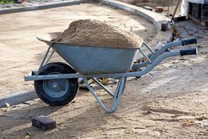 Тележка с песком