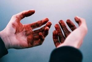 Руки в крови