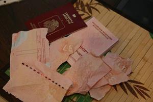 Порванный паспорт