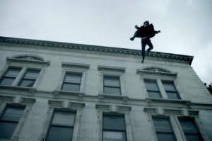 Падение с крыши