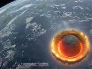 Столкновение метеорита