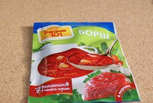 Пакетированный суп