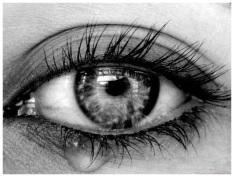 Глаз со слезой